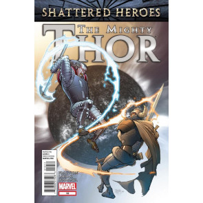 MIGHTY THOR #10 NM SHATTERED HEROES