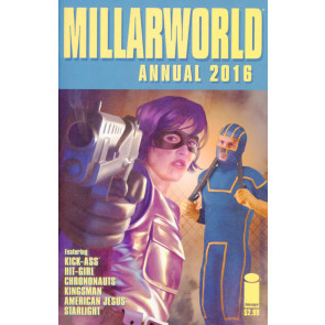 Millarworld Annual 2016 #1 VF/NM Kick-Ass Hit-Girl Kingsman Image Comics