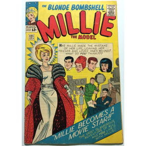 """Millie the Model (1945) #121 FN- (5.5) """"Millie Becomes A Movie Star"""""""