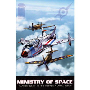 MINISTRY OF SPACE (2001) #'s 1, 2, 3 COMPLETE SET WARREN ELLIS IMAGE COMICS