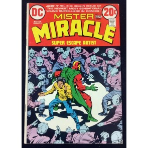 Mister Miracle (1971) #15 VF- (7.5) 1st app Shilo Norman