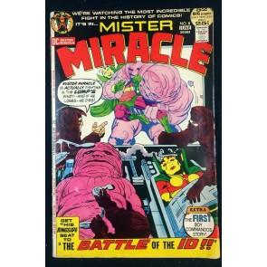 Mister Miracle (1971) #8 VG (4.0) Boy Commandos
