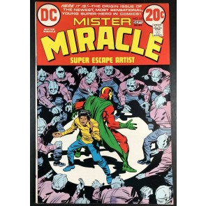 Mister Miracle (1971) #15 VF+ (8.5) 1st appearance Shilo Norman