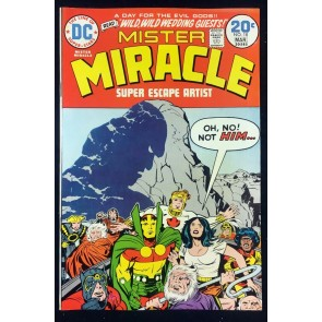 Mister Miracle (1971) #18 VF+ (8.5) Big Barda & Scott Free wed