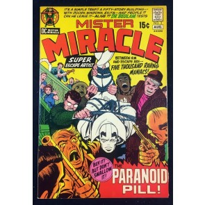 Mister Miracle (1971) #3 FN+ (6.5) Jack Kirby story and art