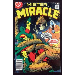 Mister Miracle (1971) #23 VF- (7.5) Marshall Rogers cover Michael Golden art