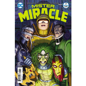 Mister Miracle (2017) #7 of 12 VF/NM Tom King Nick Derington Cover