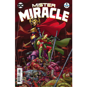 Mister Miracle (2017) #8 of 12 VF/NM Tom King Nick Derington Cover