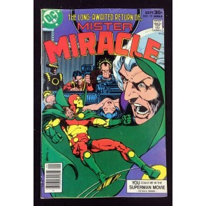 Mister Miracle (1971) #19 VG+ (4.5) Marshall Rogers cover & art