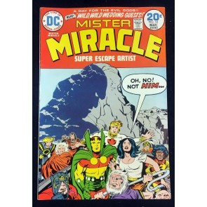 Mister Miracle (1971) #18 VF- (7.5) Big Barda & Scott Free wed