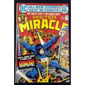 Mister Miracle (1971) #9 GD (2.0) 1st app Himon Darkseid cameo