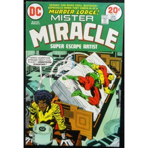 MISTER MIRACLE (1971) #17 VF (8.0) Jack Kirby story and art