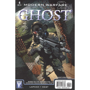 Modern Warfare 2: Ghost (2010) #4 VF/NM Wildstorm
