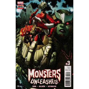 Monsters Unleashed (2017) #3 VF/NM R. B. Silva Cover