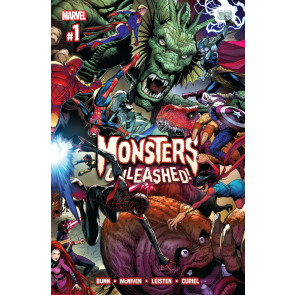 Monsters Unleashed (2017) #1 VF/NM