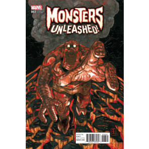 Monsters Unleashed (2017) #3 VF/NM Q-Hayashida Cover