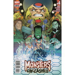 Monsters Unleashed (2017) #4 VF/NM R. B. Silva Cover