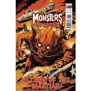 Monsters Unleashed (2017) #3 VF/NM Francesco Francavilla Cover