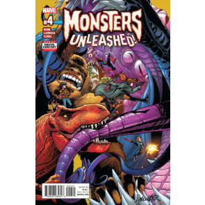 Monsters Unleashed (2017) #4 VF/NM Salvador Larroca Cover