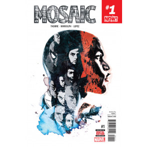 Mosaic (2016) #1 VF/NM Stuart Immonen Cover Now!