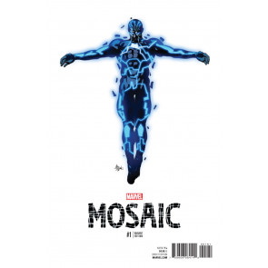 Mosaic (2016) #1 VF/NM Mike Deodato Jr. Teaser Variant Cover Now!