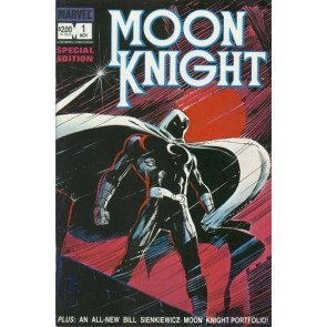 MOON KNIGHT SPECIAL EDITION 1 1983 PGS 1, 48, 5, 44 ORIGINAL COLOR PROOF ACETATE