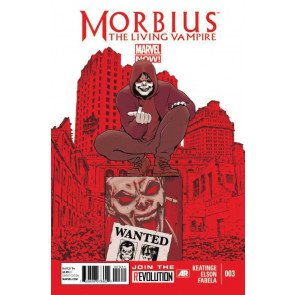 MORBIUS: THE LIVING VAMPIRE (2012) #3 VF/NM MARVEL NOW! SPIDER-MAN
