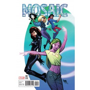 Mosaic (2016) #1 VF/NM Pasqual Ferry Champions Variant Cover Now!