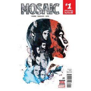 Mosaic (2016) #1 VF/NM Stuart Immonen Cover Now!