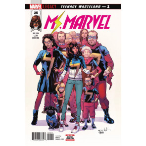Ms. Marvel (2015) #25 VF/NM