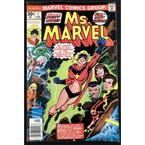 Ms Marvel (1977) #1 FN/VF (7.0) 1st app Ms Marvel