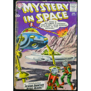 MYSTERY IN SPACE #45 FR/GD
