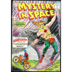 MYSTERY IN SPACE #89 GD- ADAM STRANGE & HAWKMAN STORIES