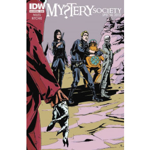 MYSTERY SOCIETY SPECIAL 2013 VF/NM STEVE NILES IDW