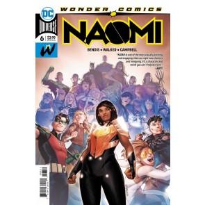 Naomi (2019) #6 VF/NM 1st Printing Bendis Jamal Campbell