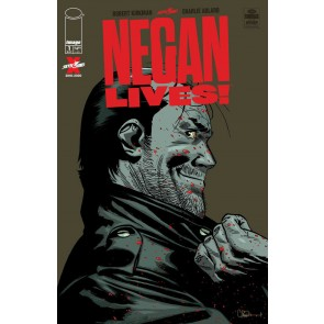 Negan Lives! (2020) #1 VF/NM-NM Charlie Adlard Regular Cover Walking Dead Image