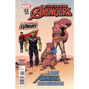 New Avengers (2015) #11 VF/NM