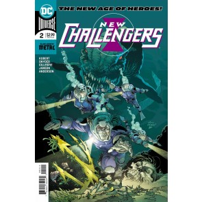 New Challengers (2018) #2 of 6 VF/NM (9.0) or better DC Universe Andy Kubert