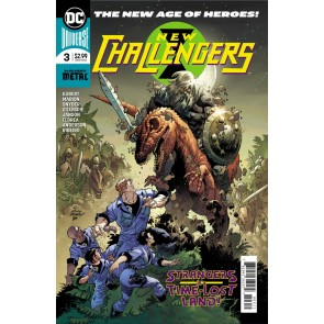 New Challengers (2018) #3 of 6 VF/NM (9.0) or better DC Universe Andy Kubert