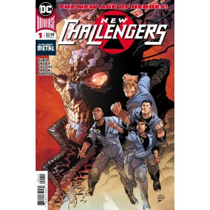 New Challengers (2018) #1 of 6 VF/NM (9.0) or better DC Universe Andy Kubert