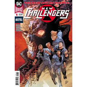 New Challngers (2018) #1 VF/NM