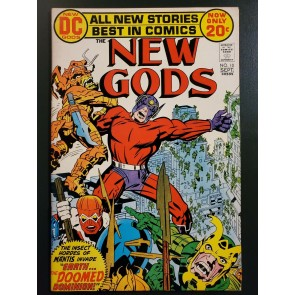 New Gods #10 (1972) F/VF (7.0) Jack Kirby|