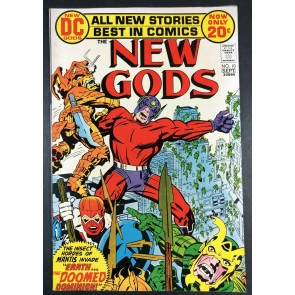 New Gods (1971) #10 FN/VF (7.0) vs Mantis