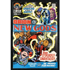 New Gods (1971) #2 FN+ (6.5) 2nd full app Darkseid & 1st cover appearance