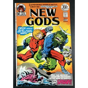 New Gods (1971) #5 VF (8.0) 1st full app Slig Young Gods Featured