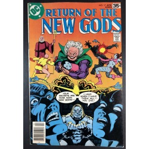 New Gods (1971) #17 FN+ (6.5) Darkseid app