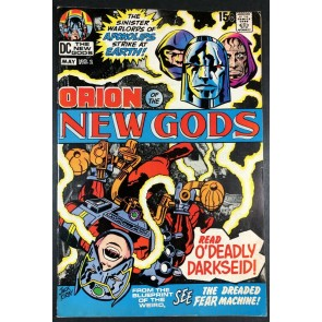New Gods (1971) #2 FN/VF (7.0) 2nd full app Darkseid and 1st cover appearance