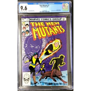 New Mutants (1983) #1 CGC 9.6 Off-White to White Pages (2128263003)