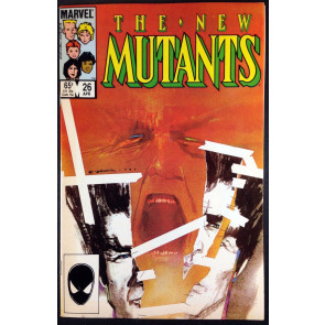 New Mutants (1983) 25 26 27 28 VF+ (8.5) 1st appearance Legion complete set