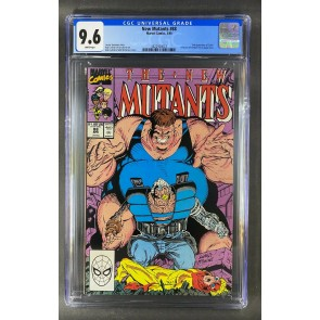New Mutants (1983) #88 CGC 9.6 White Pages 2nd Appearance Cable (3822924023)